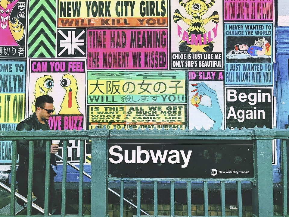 A common New York FAQ is about the subway. Is it safe? Yes!