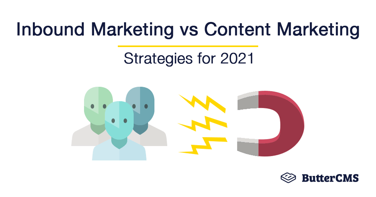 Cover Image: Inbound vs Content Marketing