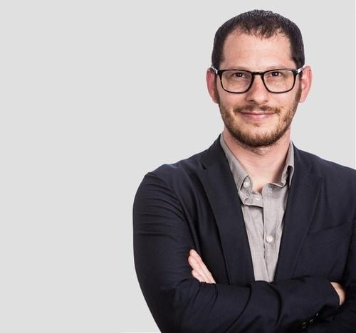 The testimonial author, Shahar Kobrinsky