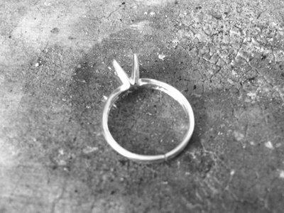 Soldering a finger ring band