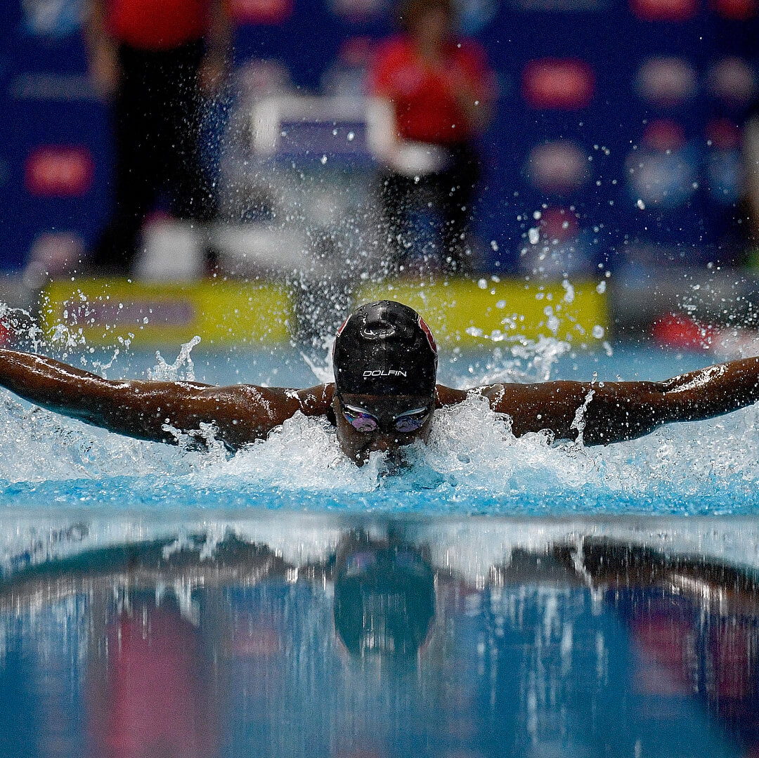 Olympic swimmer Simone Manuel makes her professional debut