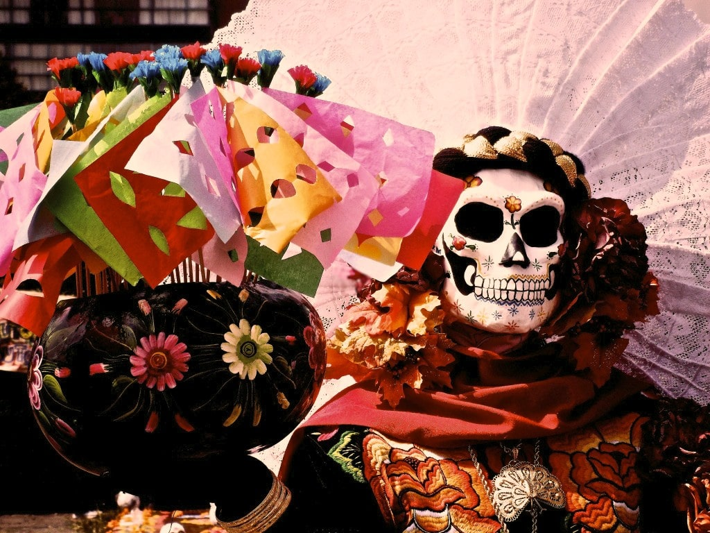 Dia de los Muertos is the the best time to visit Mexico City