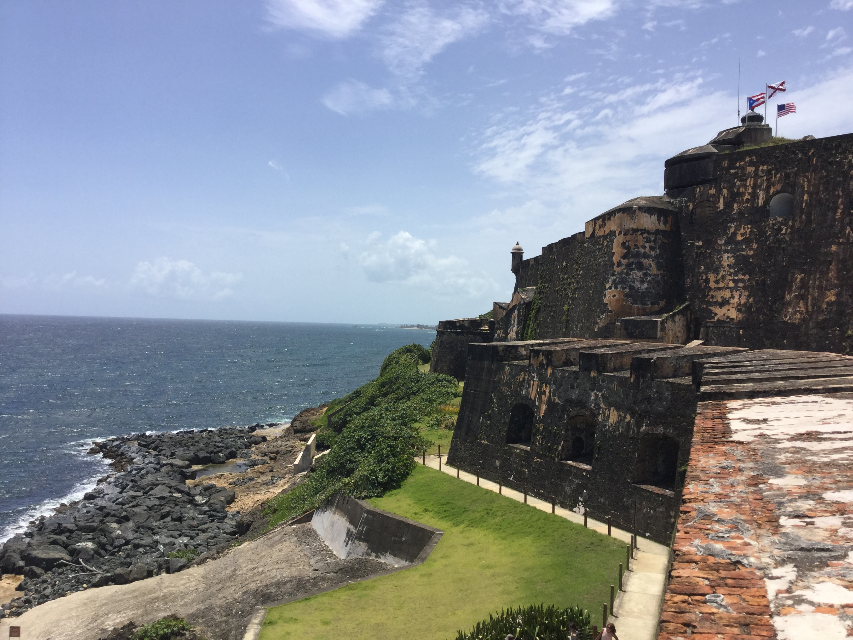 El Morro is one of the top attractions in San Juan