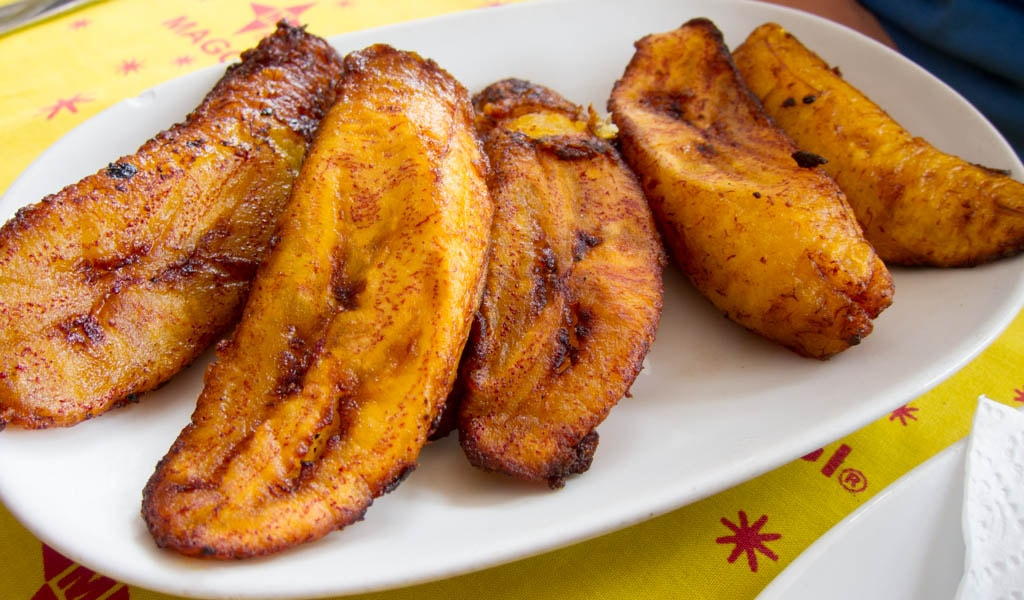 Plantains in Cuba