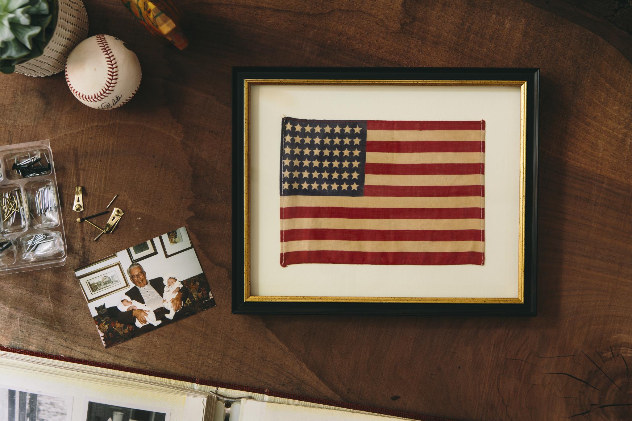 How To: Frame a Flag