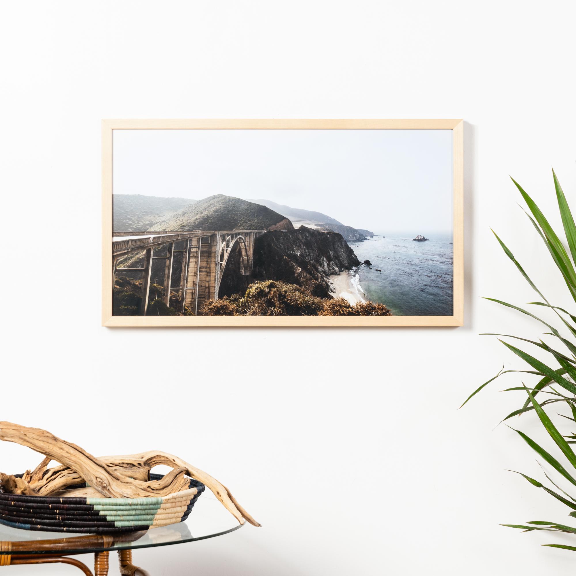 Framebridge Black Artists Print Shop Jahi Walker Bixby framed print Marin frame