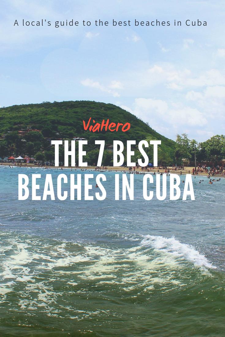 Cuba Beaches ViaHero Pinterest