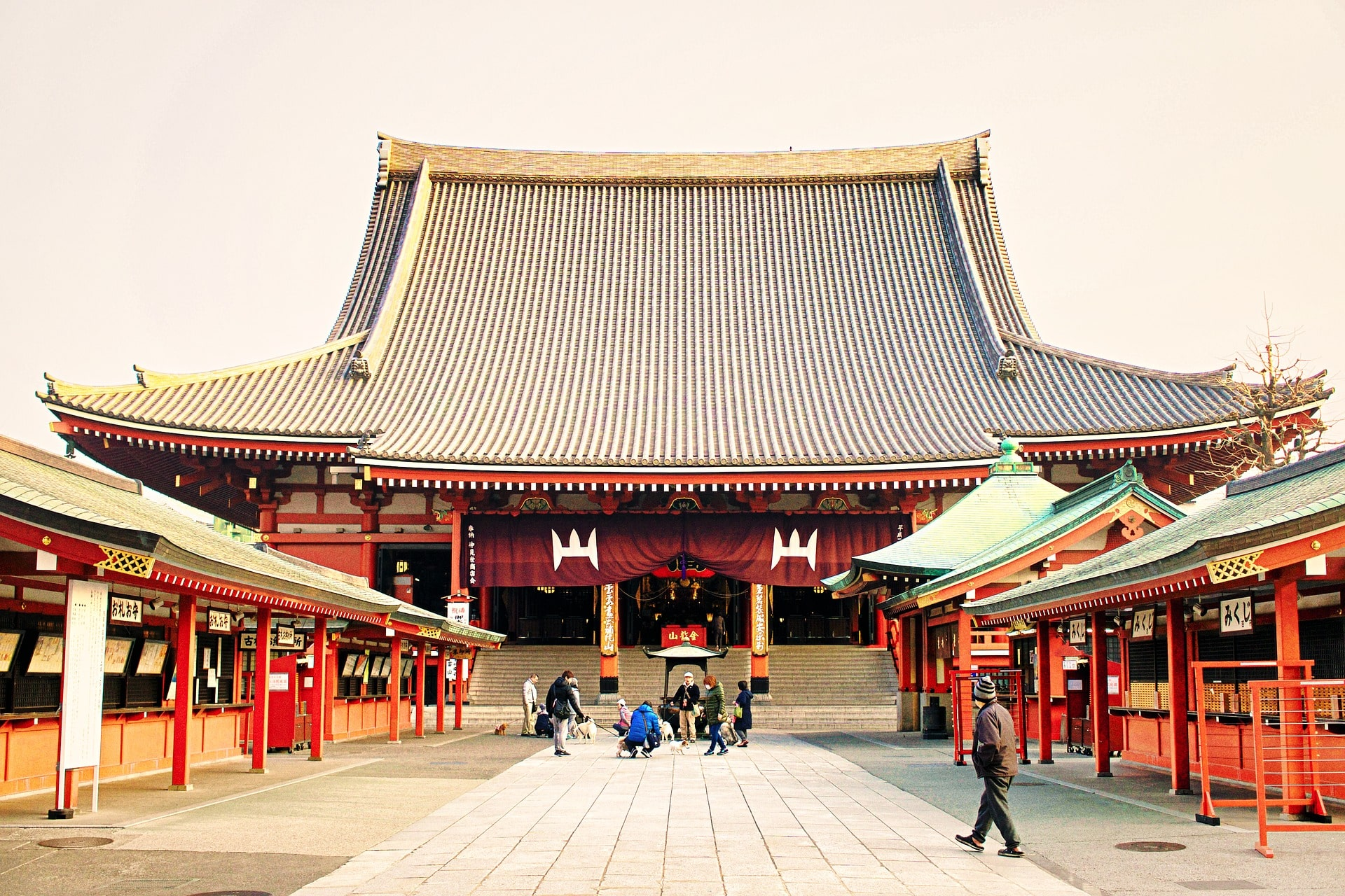The awesome Senso-ji temple is one of the top rated attractions on TripAdvisor Japan