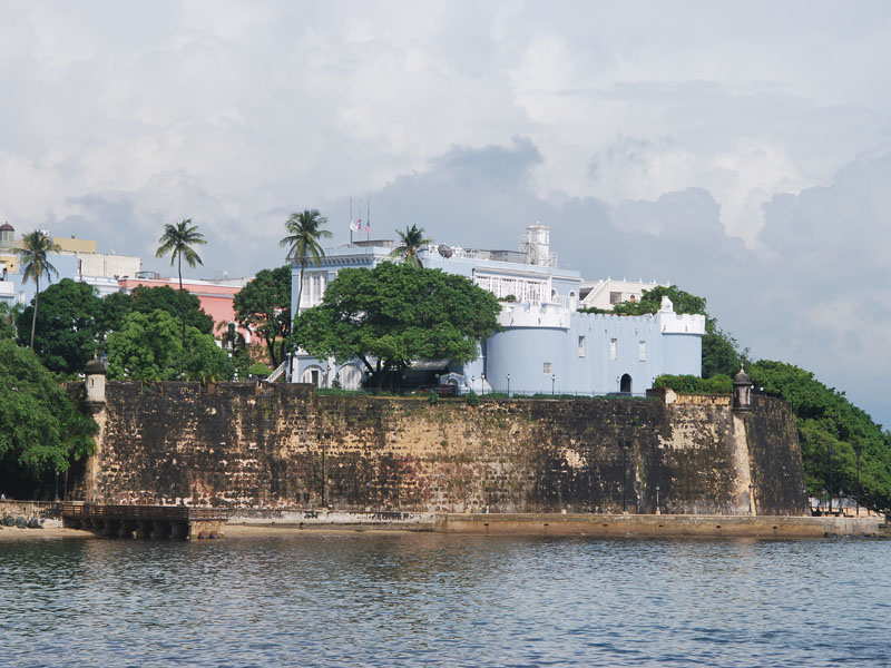 La Fortaleza mansion is a gorgeous attraction in San Juan