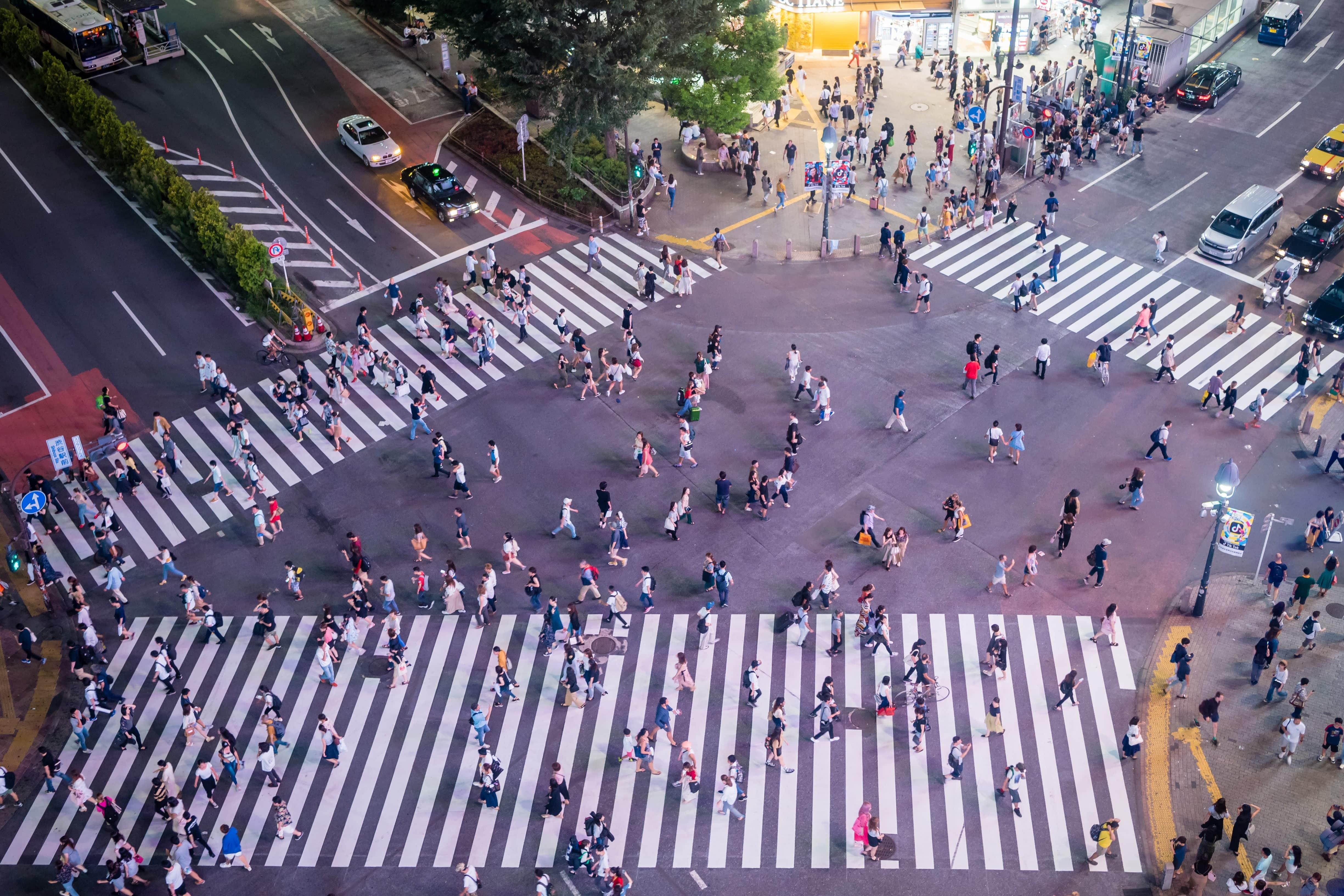 Shibuya Crossing is one of the best Tokyo sightseeing spots