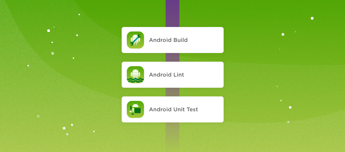Convert old Android workflows and configure new steps based on the old Gradle tasks