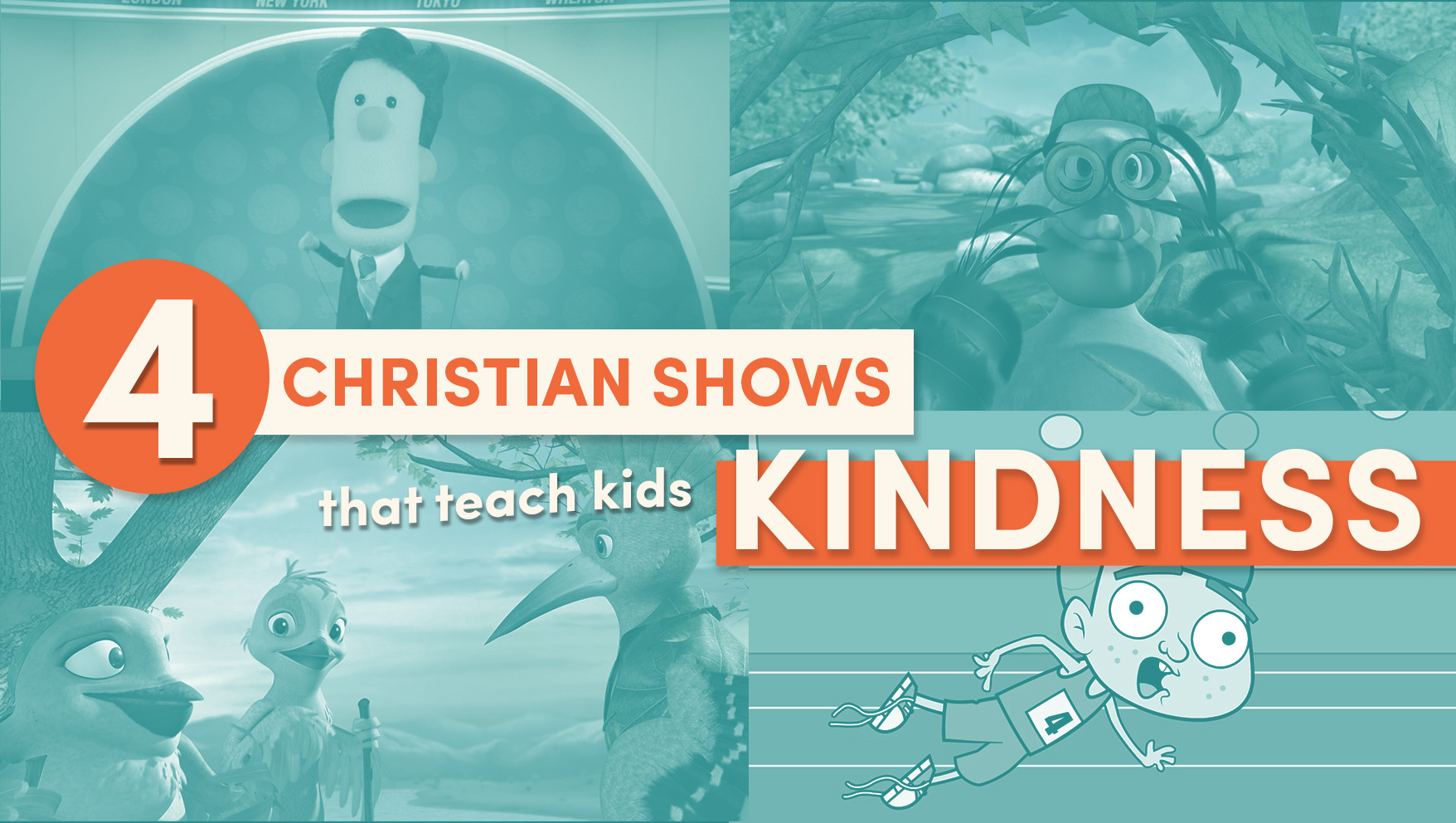 4 Christian Shows that Teach Kids Kindness