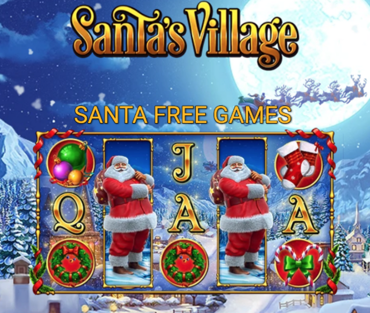 Santa free slots
