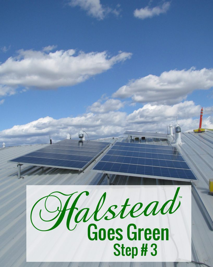 Solar panels on Halstead roof