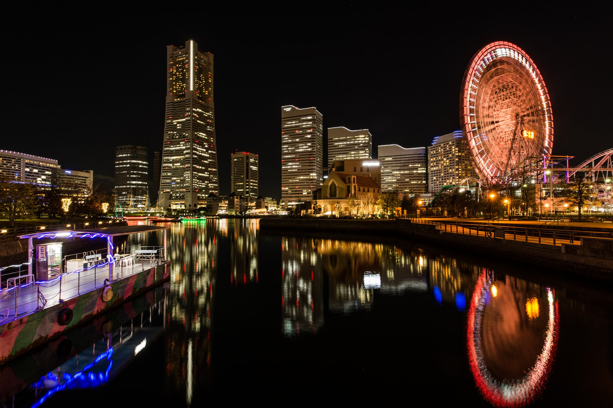 Yokohama cityscape over the water one of the best cities to visit in Japan