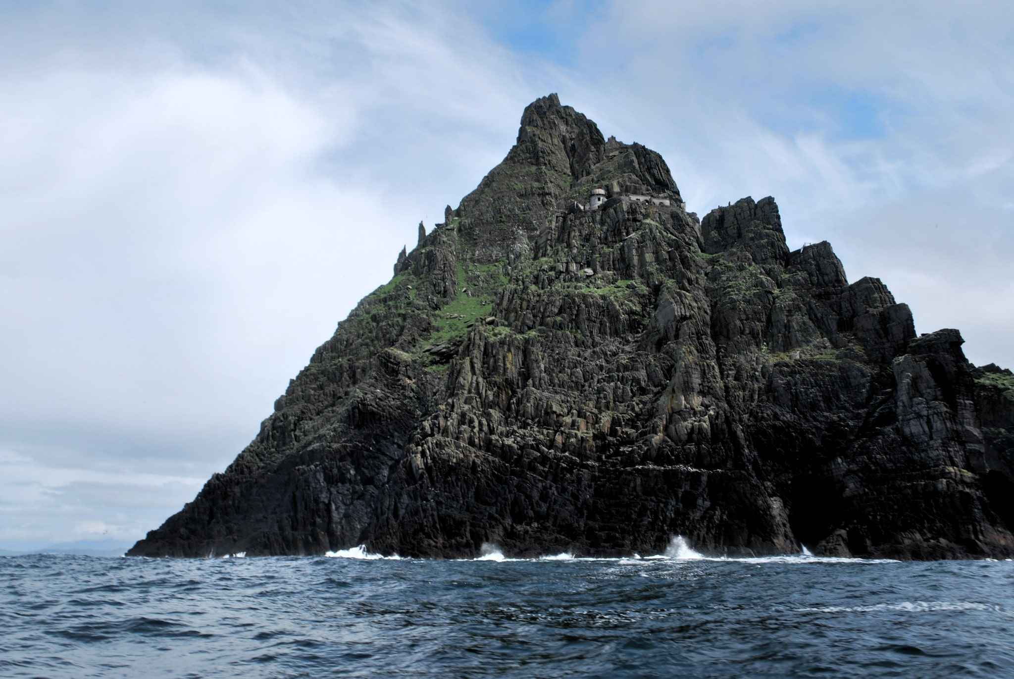 Visiting Skellig Michael Island, from Star Wars, is a cool thing to do in Ireland