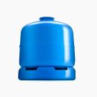 Ilustração de fundo branco com botijão azul de 2KG