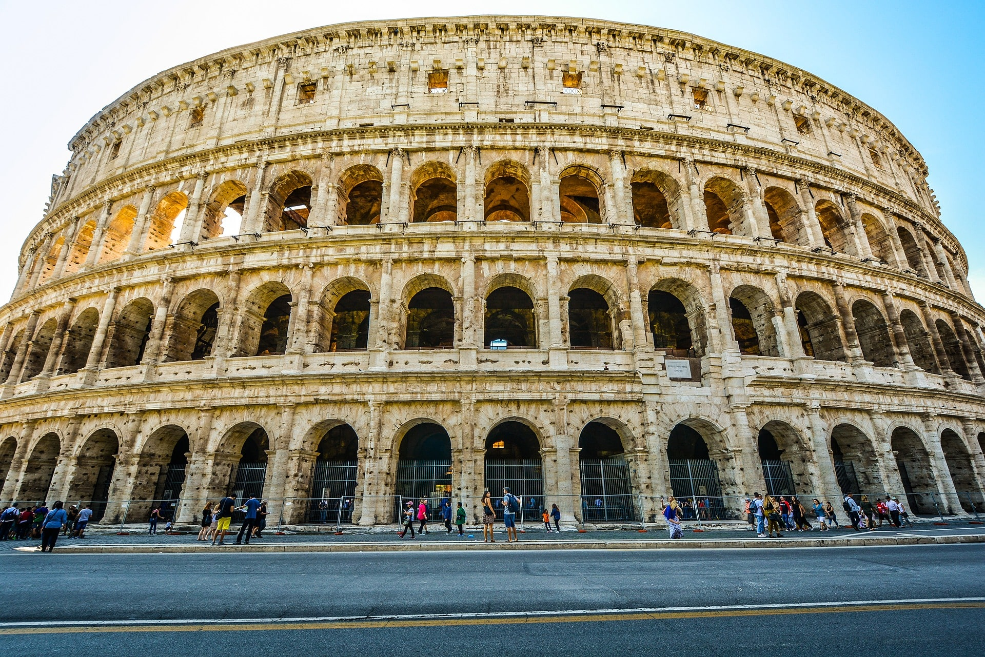 One of the biggest things to do in Italy is visit the awe-inspiring Colosseum
