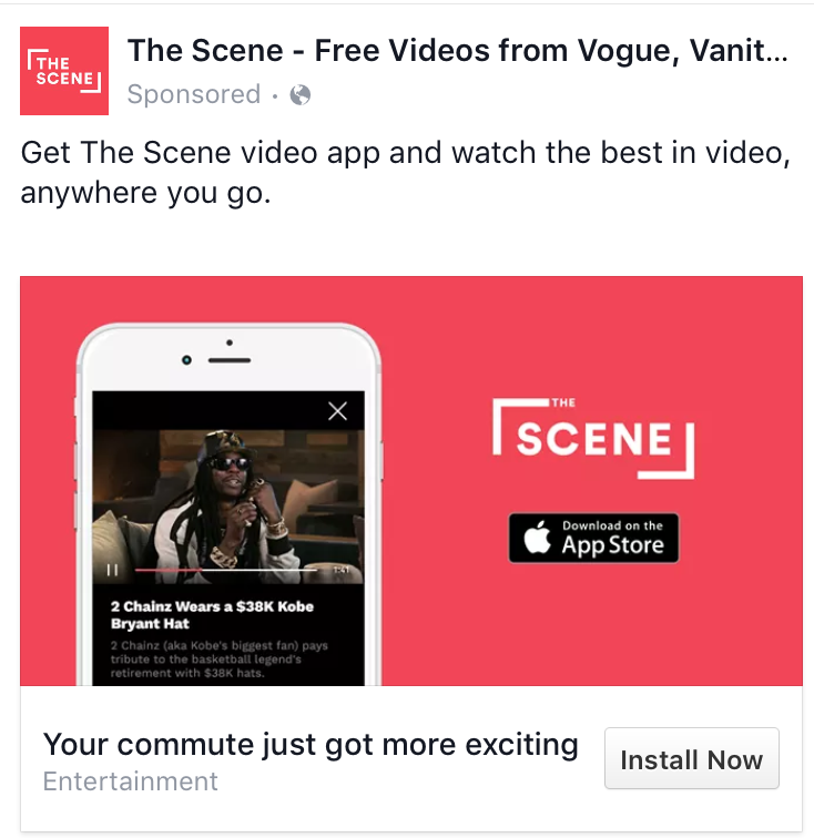 The Scene Advertisement