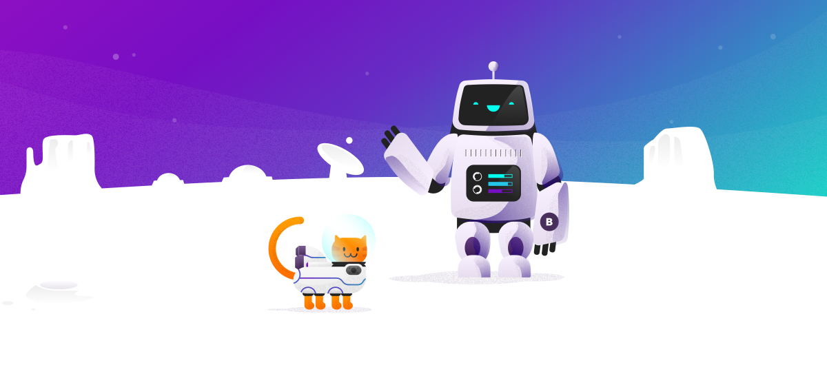 Bitrise Redesign - Bitbot and Purr Request in the Making