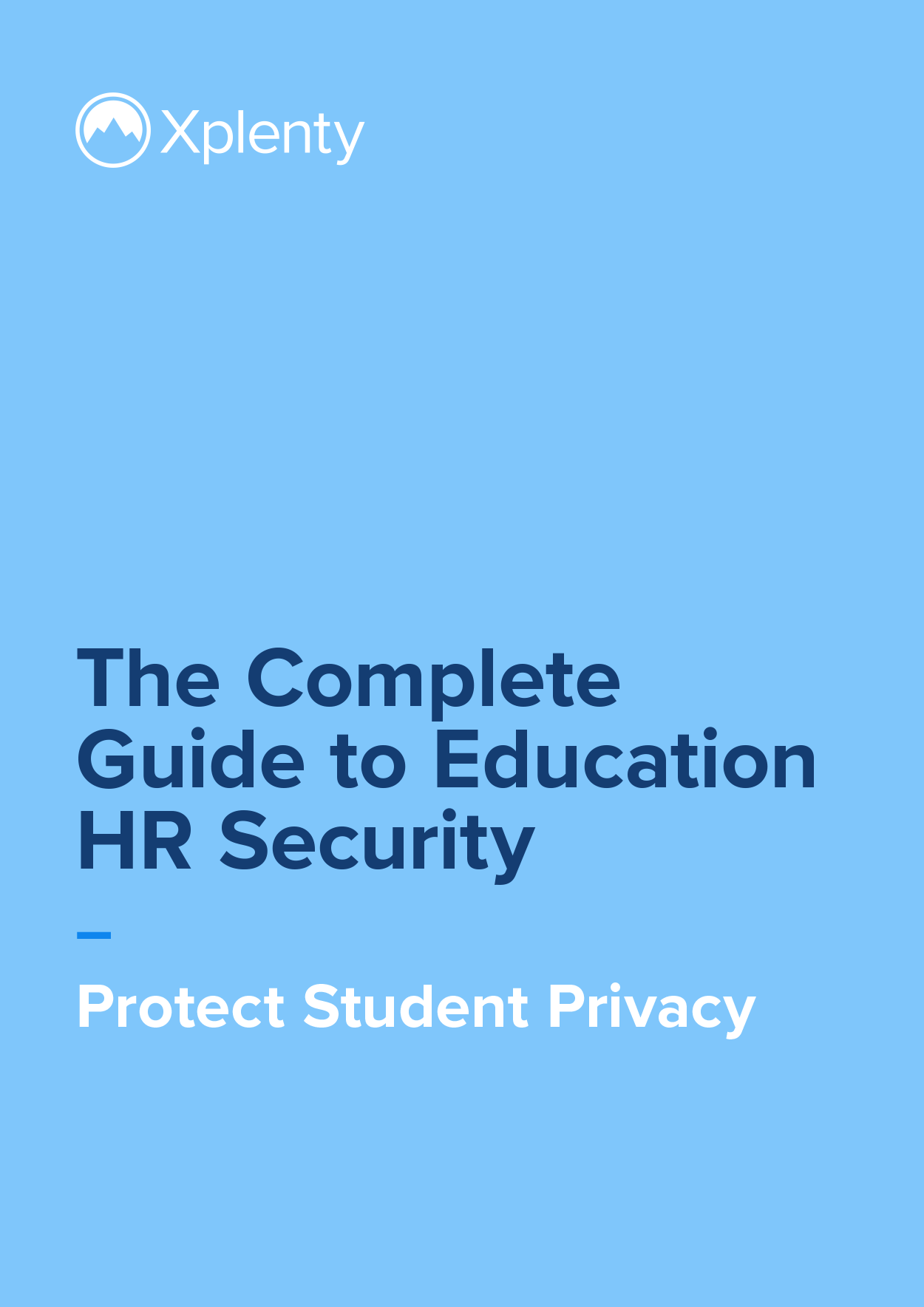 The Complete Guide to Education HR Security