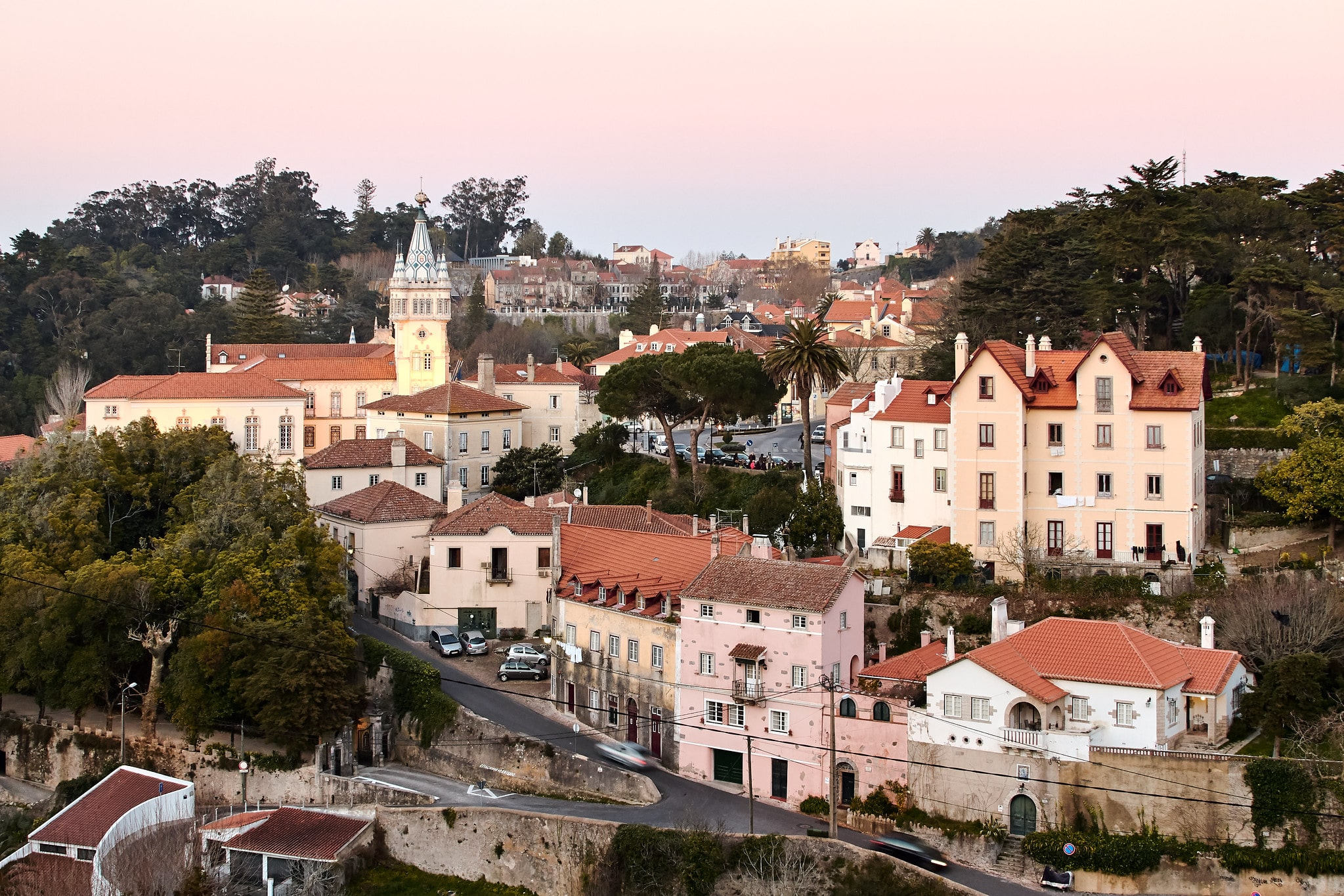 Where to stay in Portugal for stunning palaces? Sintra