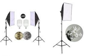 Belle Max Lighting Kit and StudioFX Lighting Kit