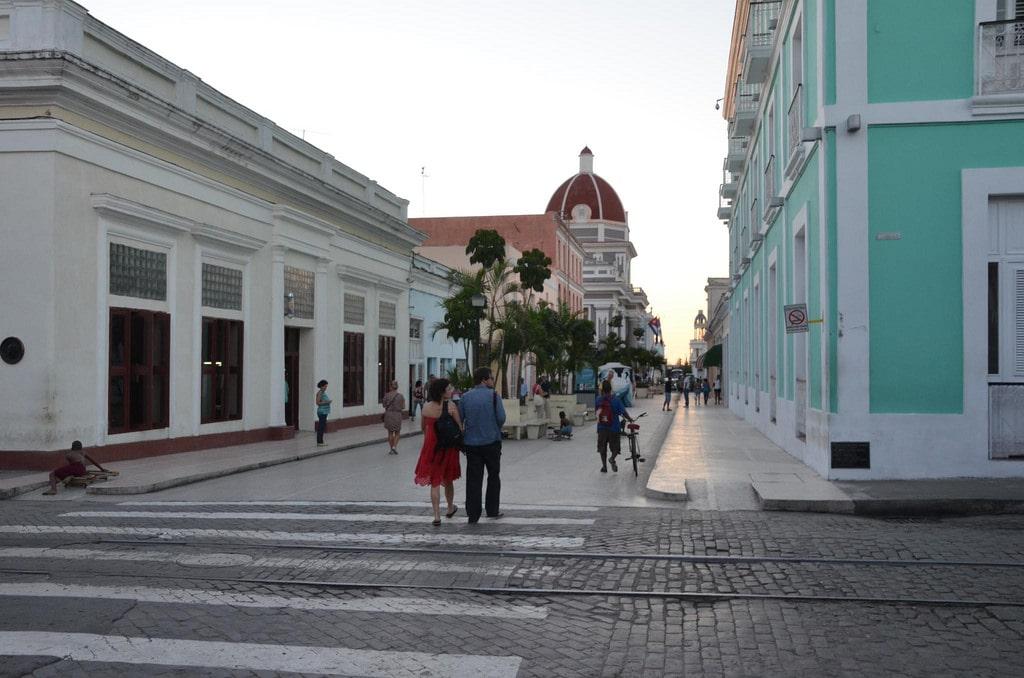 Boulevard of the Cienfuegos Cuba