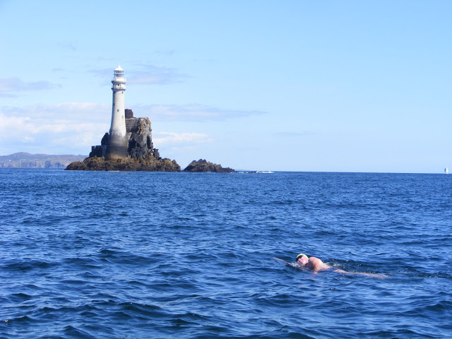 marathon swimmer Stephen Redmond swimming the Irish Channel