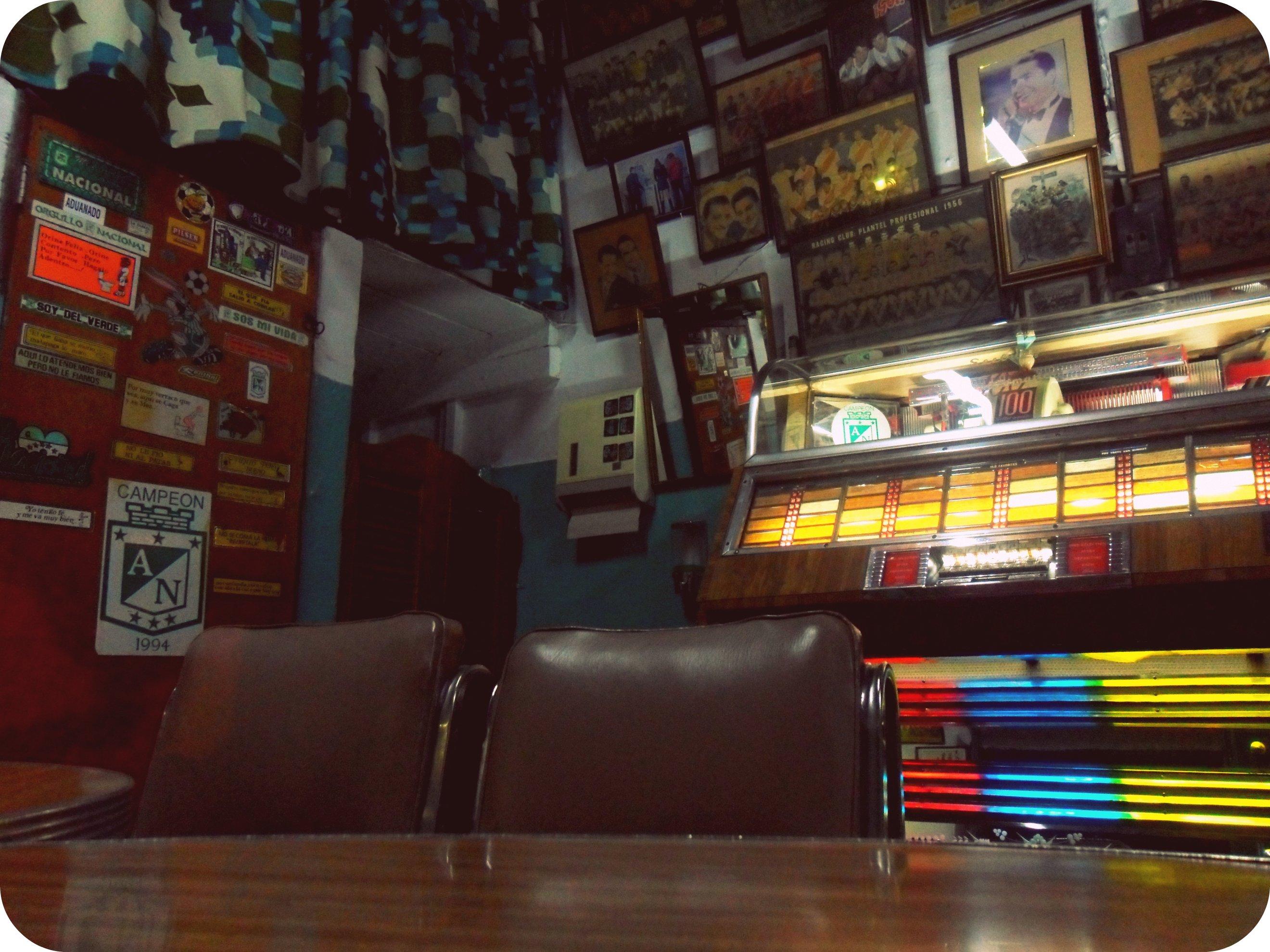 AtleNal bar in Enviagado in Medellin Colombia