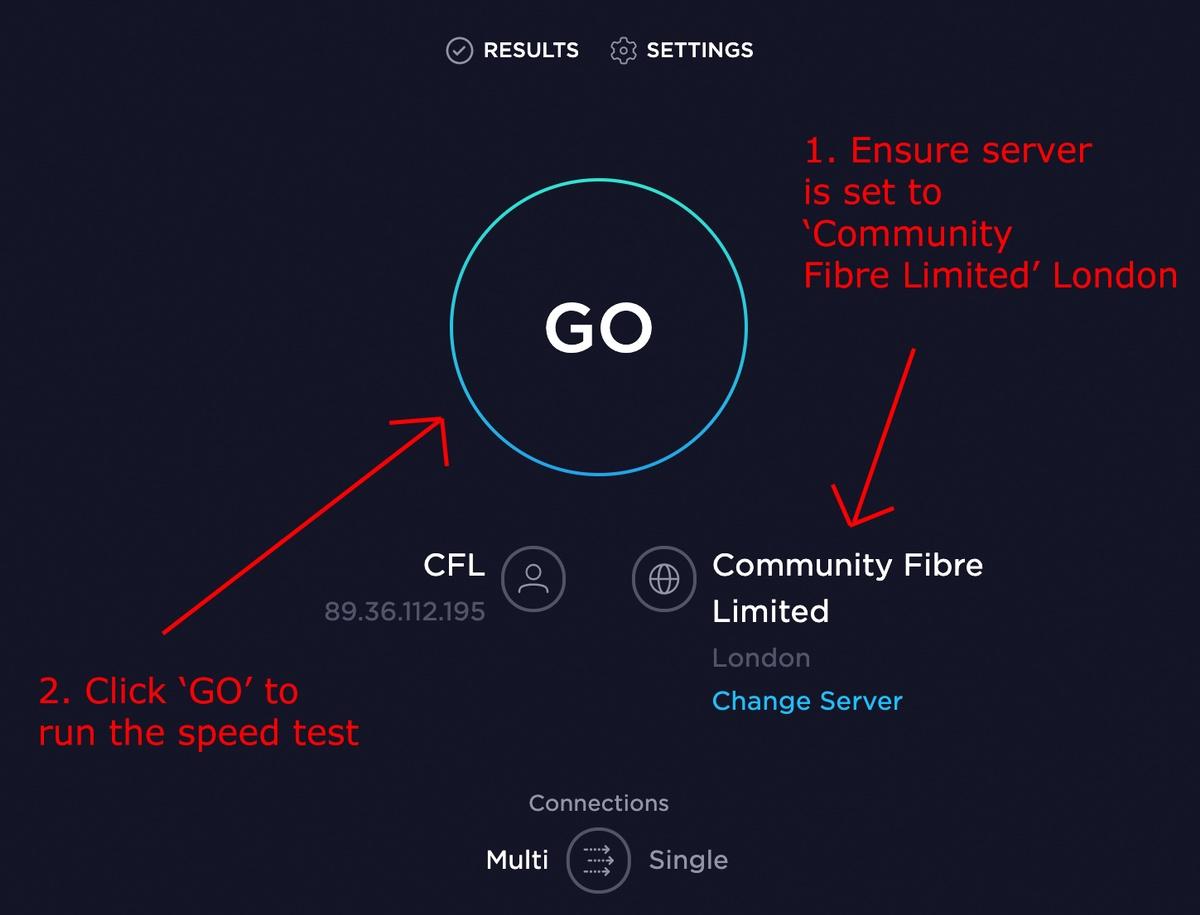 Wifi speed test speedtest