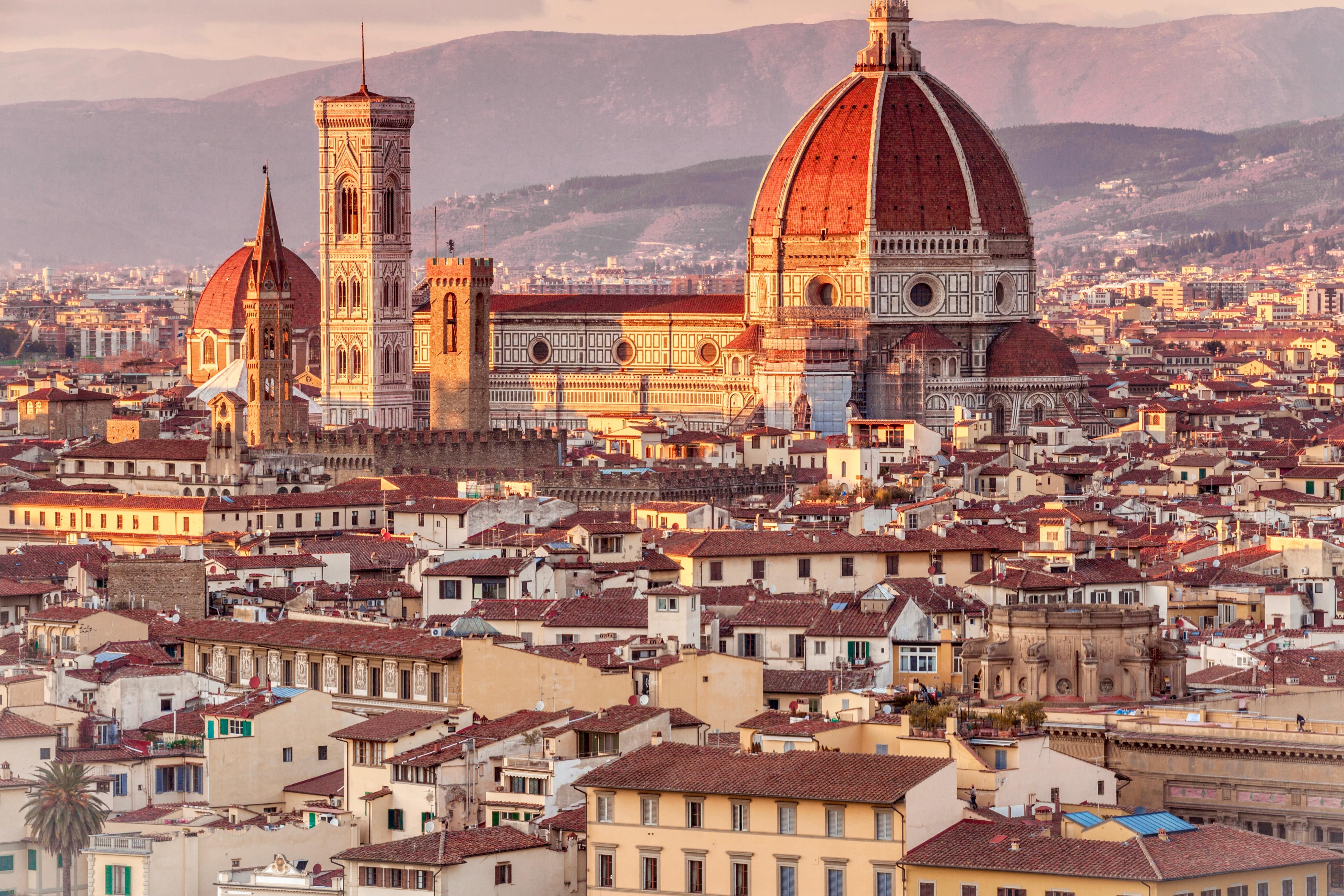 Florence is a beautiful place to visit in Italy