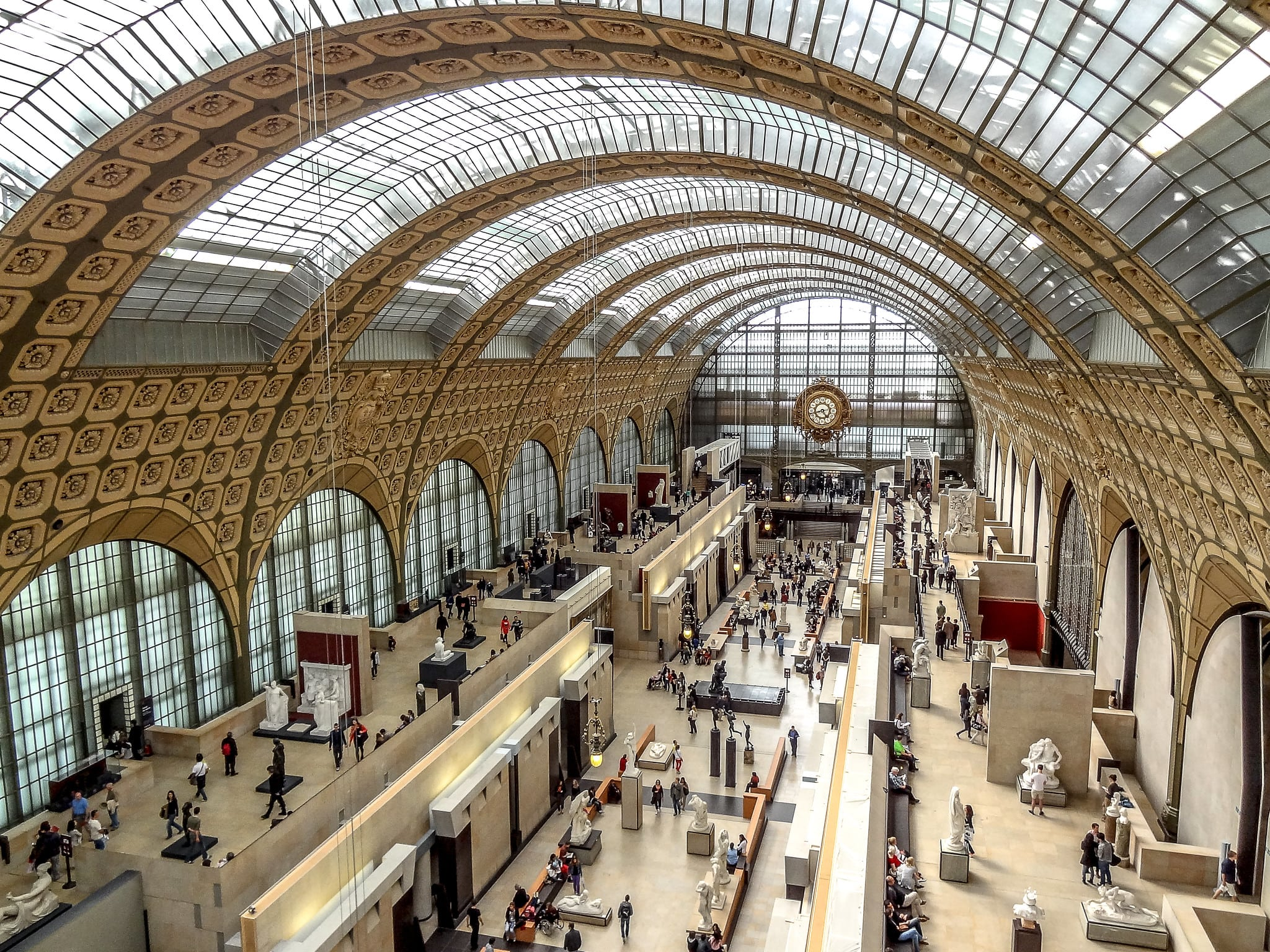 Touring Paris' museums is a fun thing to do in France
