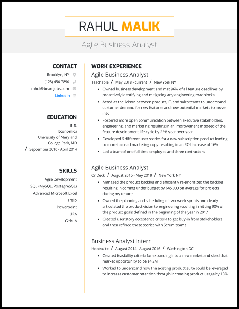 It business analyst resume template professional mba assignment topics