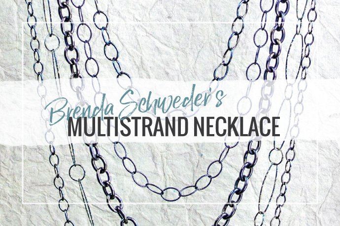 Brenda Schweder teaches how to make a stunning multi-strand chain necklace with a striking patina in this jewelry making how-to guide.