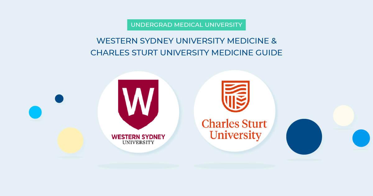 Undergraduate medicine australia- CSU medical school and WSU medicine