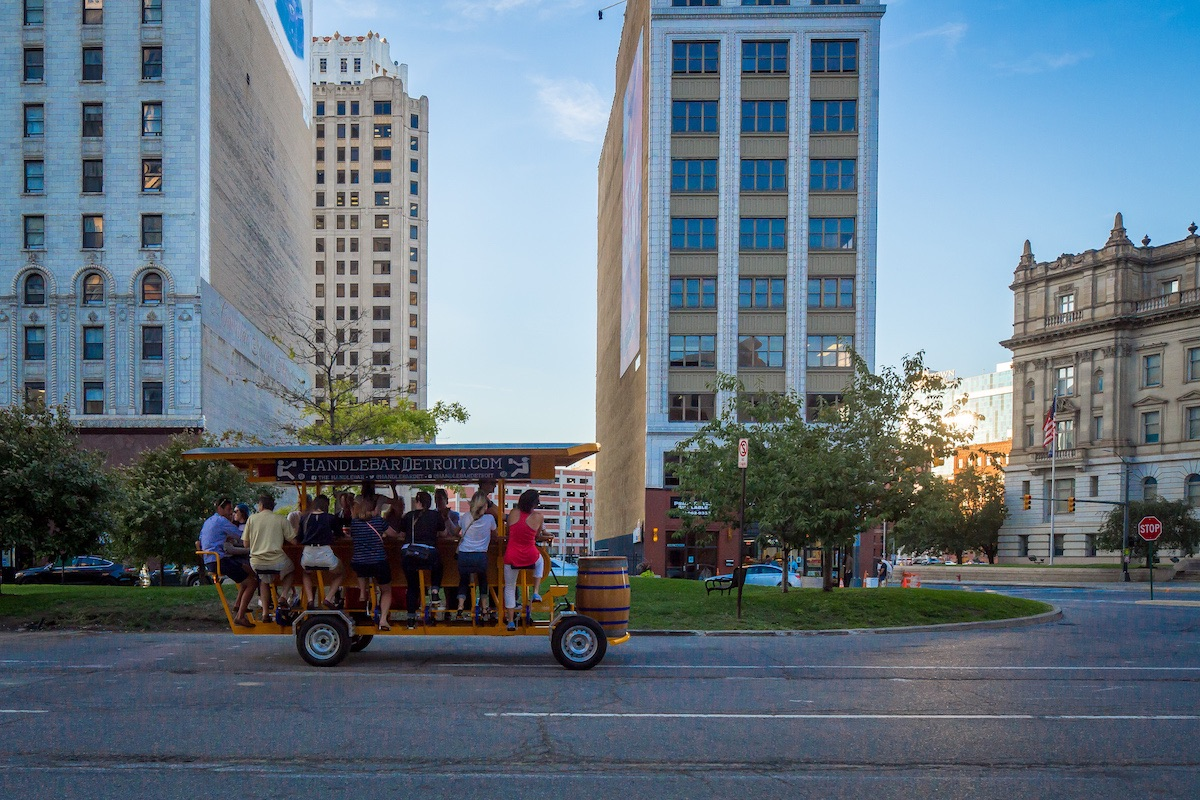 How to Get Around Detroit Without Driving, Detroit, MI