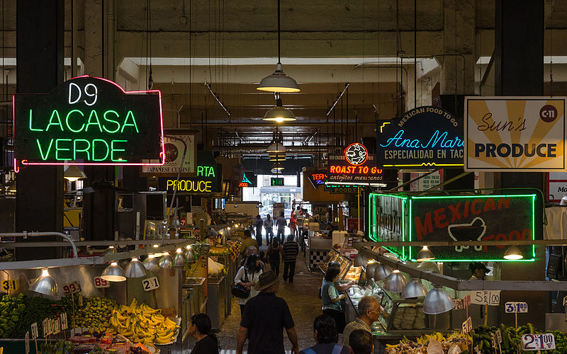 Hungry? The best place to visit in LA for a snack is Grand Central Market