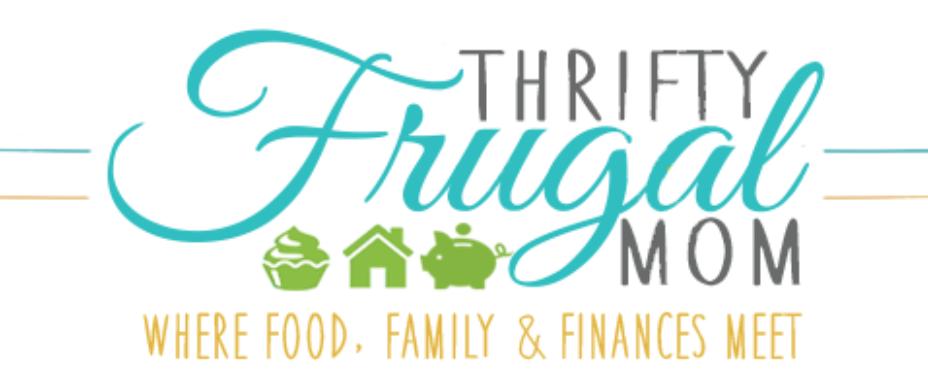 thrifty frugal mom logo