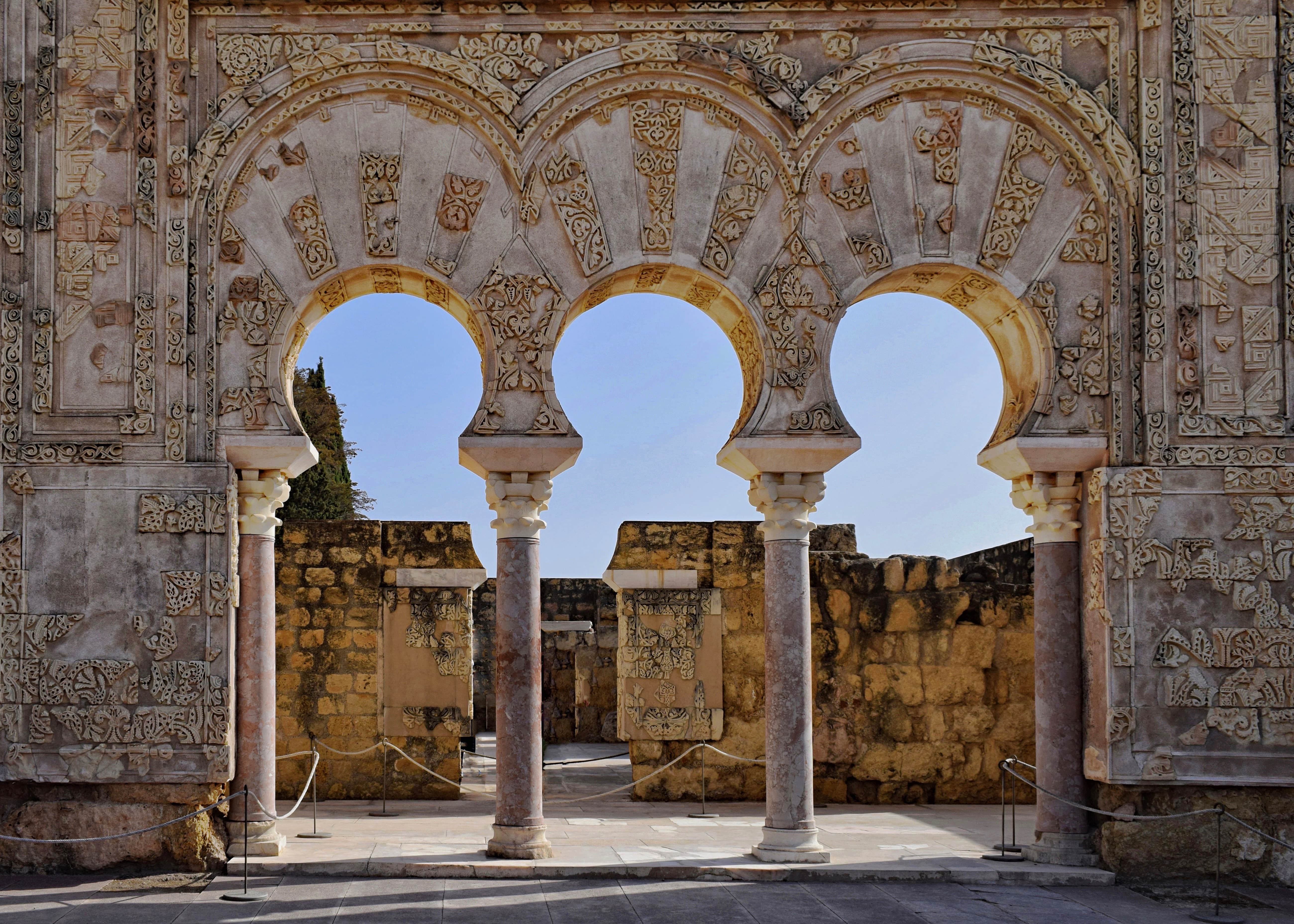 The ruins of Medina Azahara in Cordoba are an amazing place to visit in Spain