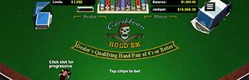 Slots Empire Caribbean Holdem Poker