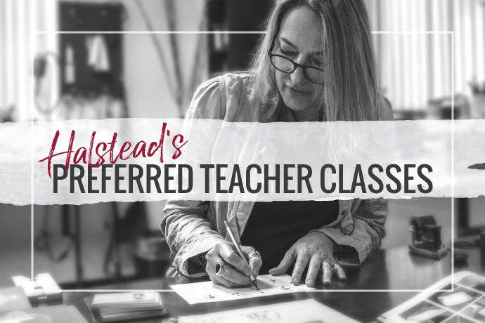 Take a jewelry making class from one of Halstead's Preferred Teachers. Find classes at shows and retreats or in studios around the country.