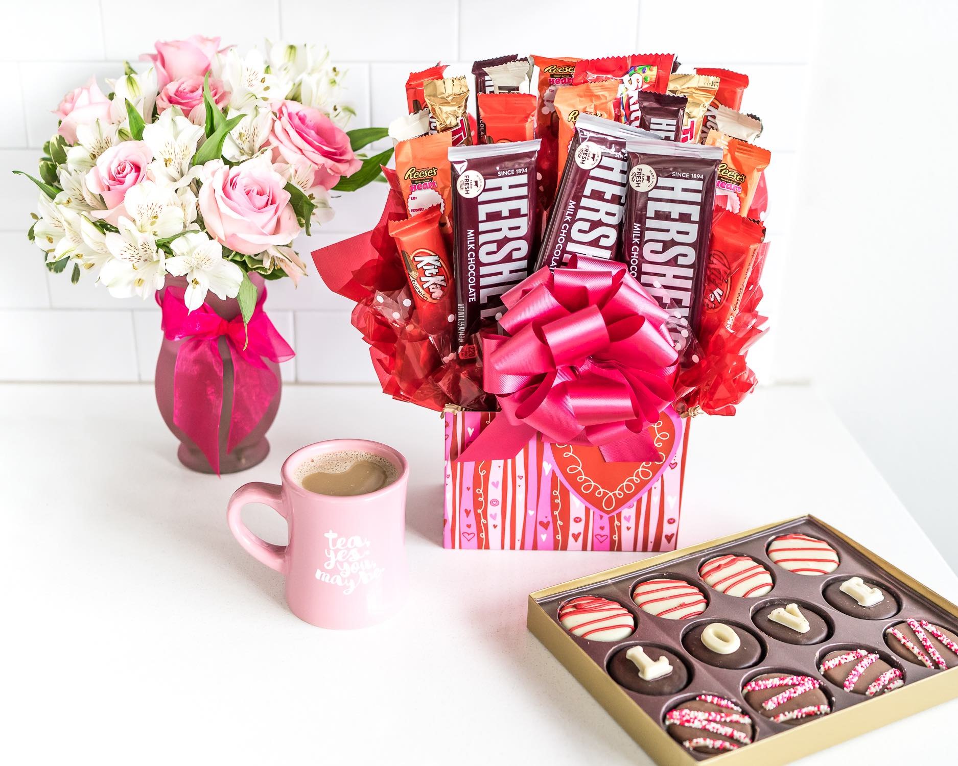 Valentine's Day Gift Baskets and Chocolate