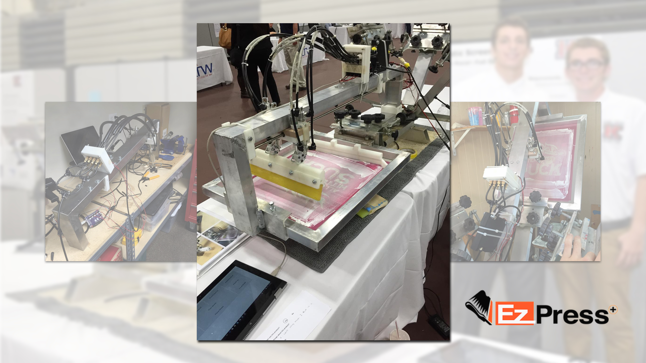 A New Kind of Screen Printing Press? Meet EZPress: Open