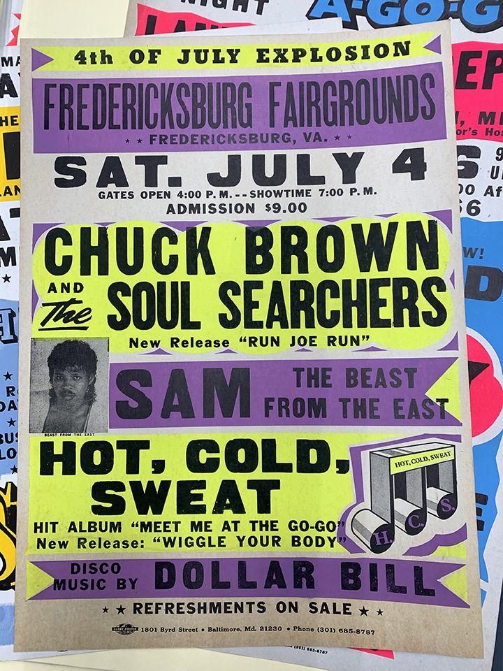 chuck brown go-go poster