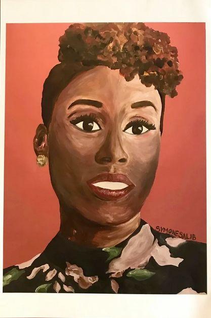portrait of Issa Rae