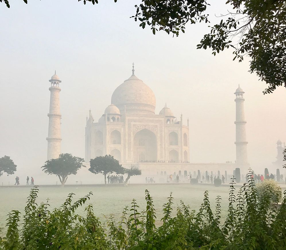 photo of the Taj Mahal