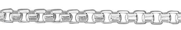 Half Round Box Chain Link Style