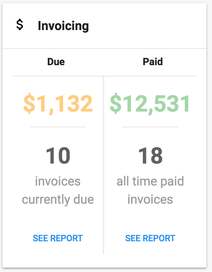 Consolidated Invoices