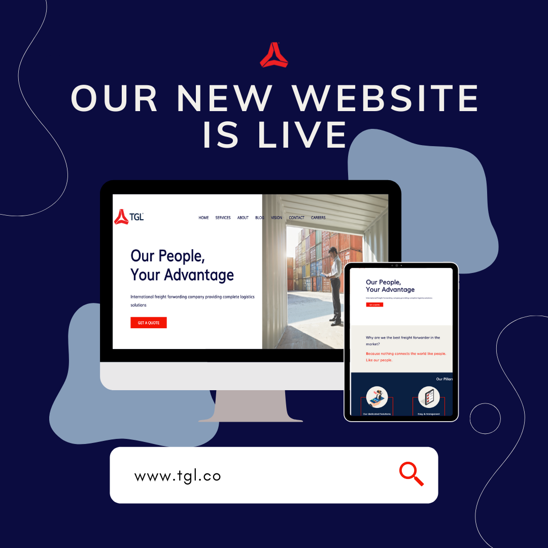 TGL announces the launch of their new website. Built in August 2021.